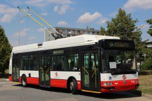 Trolejbus Škoda 24Tr Irisbus v barvách DPP. Autor: DPP - Ondřej Volf