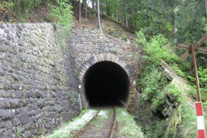 Podhradský tunel. Foto: Vojtěch Židlický / mapy.cz