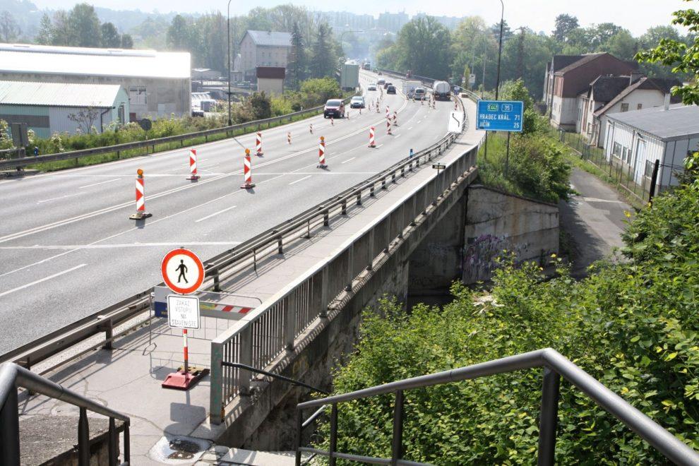 Most přes Jizeru v Turnově na silnici I/35. Foto: Turnov.cz