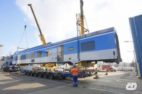 Vagon Siemens/Škoda pro České dráhy. Pramen: ČD