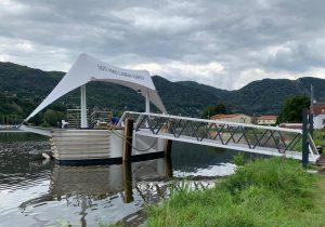 Nová podoba přístaviště Ústí nad Labem-Vaňov. Pramen: ŘVC