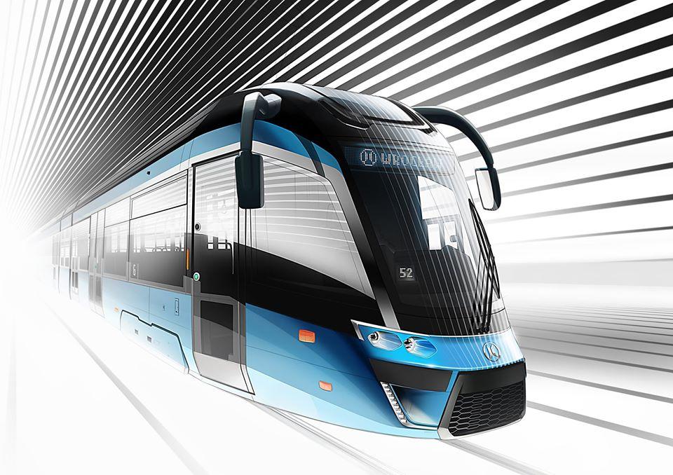 Nová tramvaj pro Vratislav. Foto: Modertrans