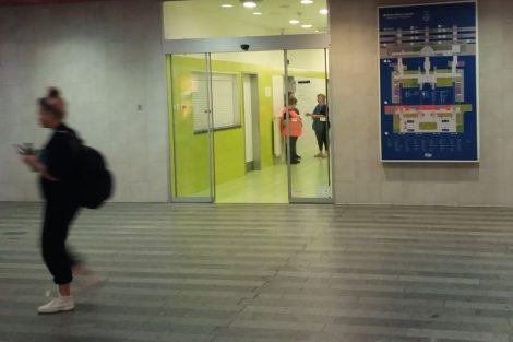 Na hlavním nádraží v Praze lze za toalety platit kartou. Autor: Zdopravy.cz/Jan Šindelář