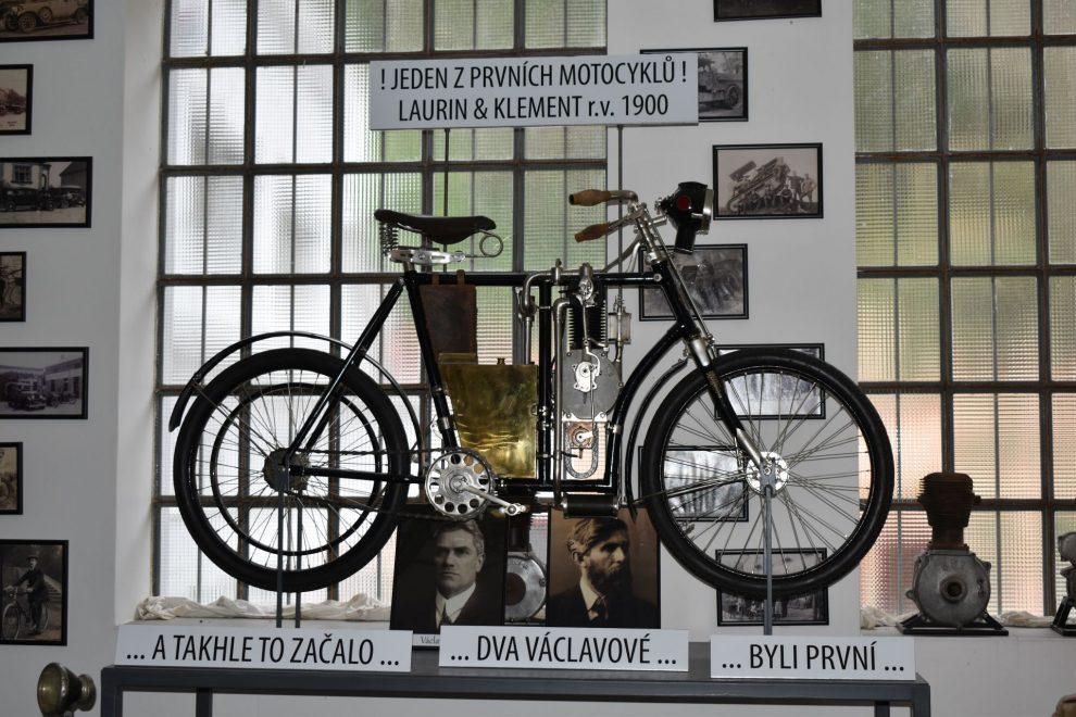 Museum motorismu ve Znojmě. Foto: Vlastimil Kučera