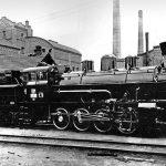 První parní lokomotiva z plzeňské Škody nesla tovární označení 1Lo. Pramen: Škoda Transportation