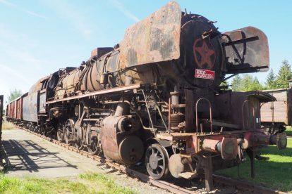 Lokomotiva 556.0304 v Jaroměři. Foto: Muzeum Výtopna Jaroměř