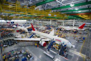 Výroba Boeingu 787 v North Charlestonu. Foto: Boeing