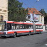 Trolejbus Škoda 22Tr v Brně. Foto: Harold17 / Wikimedia Commons