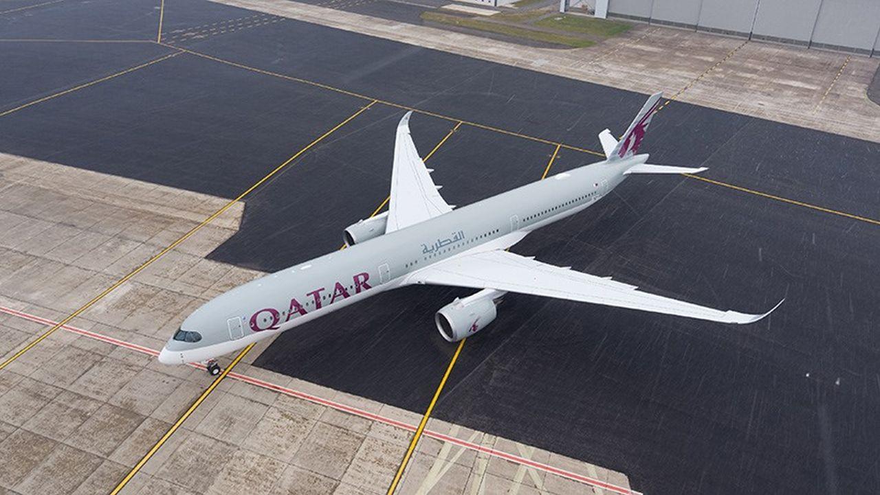 Airbus A350 společnost Qatar Airways. Foto: Qatar Airways