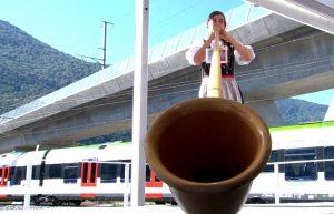 Slavnostní otevření tunelu Ceneri. Pramen: RSI