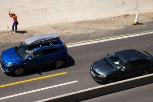 Omezení na dálnici, ilustrační foto. Pramen: MDČR
