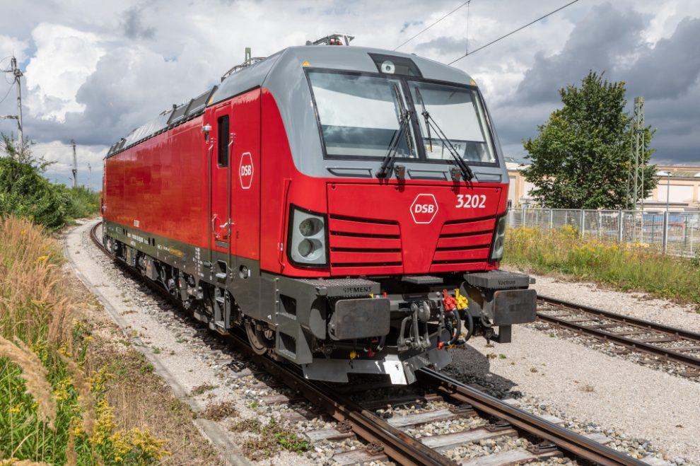 Nová lokomotiva Vectron pro dánské dráhy DSB. Pramen: Siemens Mobility