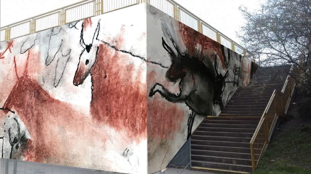 Návrh Pravěký mural