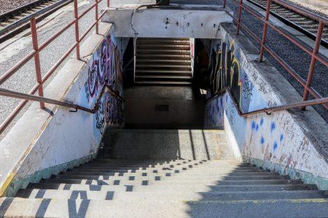 Radotín. Podchod z roku 1965 projde rekonstrukcí, přibudou výtahy. Pramen: Správa železnic