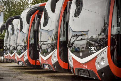 Nové autobusy SOR NS 12 pro Brno. Foto: DPMB