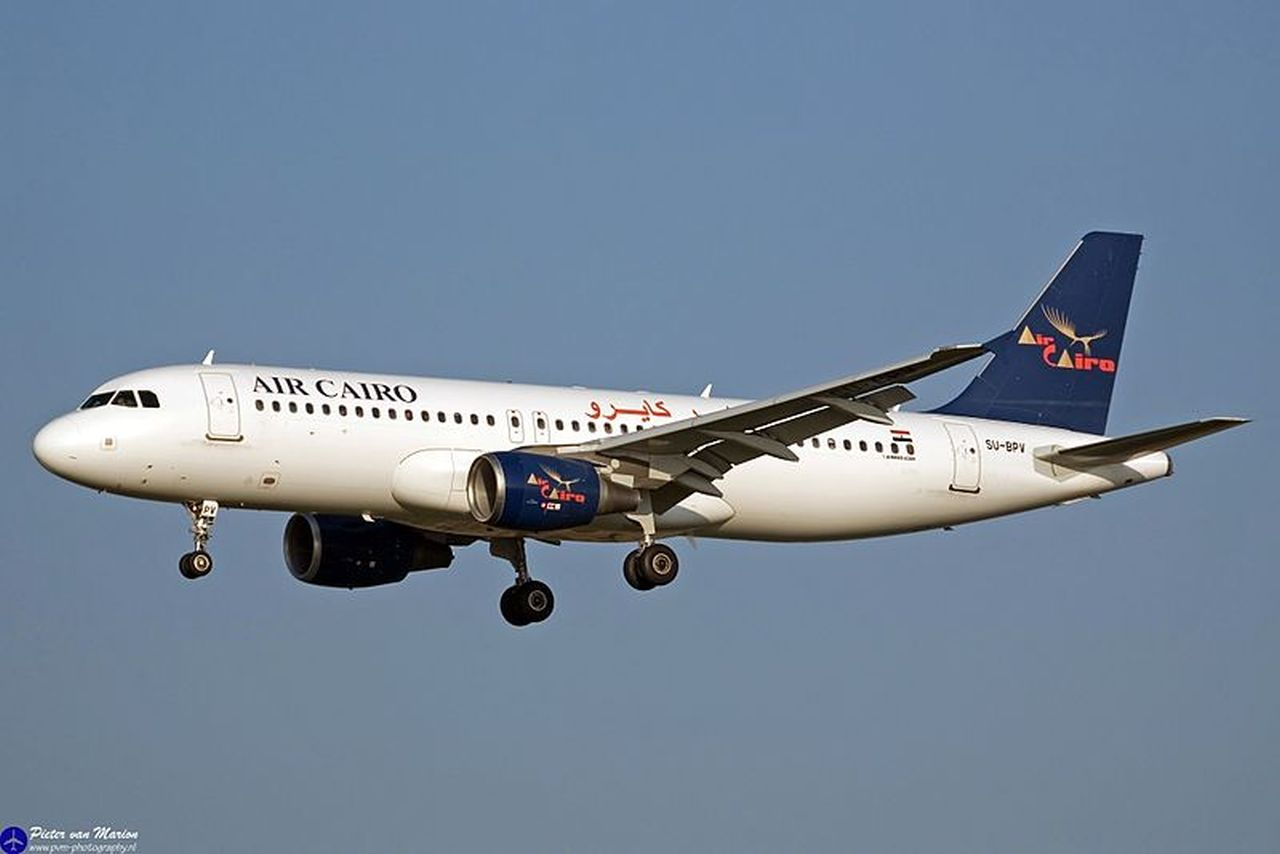 Airbus A320 společnosti Air Cairo. Foto: Pieter van Marion from Netherlands / CC BY-SA