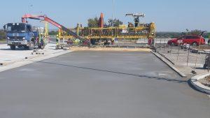 Oprava odpočívky Rajhrad na D52. Foto: Skanska