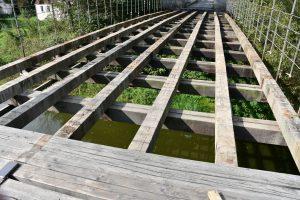 Stádlecký most prochází opravou. Pramen: Jihočeský kraj