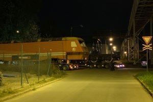 Přesun lokomotivy řady 169 z Plzně do Přerova. Foto: ČMŽO