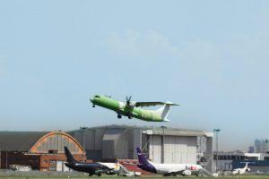 ATR 72-600F po startu z Toulouse. Foto: ATR