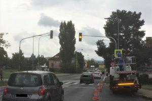 Silnice I/9 v České Lípě prochází mezi dvěma sídlišti. Foto: Městský úřad Česká Lípa