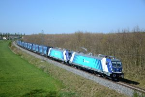 Z Mostecké uhelné pánve jezdí vlaky ČD Cargo i s vozy typu Innofreight. Foto: ČD Cargo