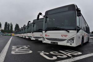 Nové autobusy Iveco Crossway pro ČSAD Liberec. Foto: Liberecký kraj