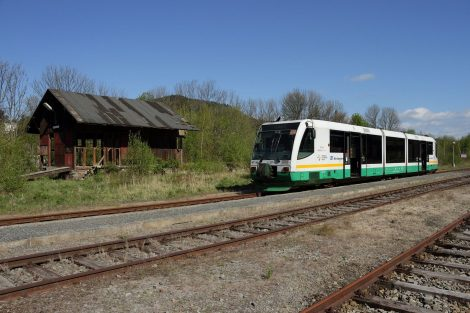 RegioSprinter společnosti Die Länderbahn CZ. Foto: Doprava Ústeckého kraje