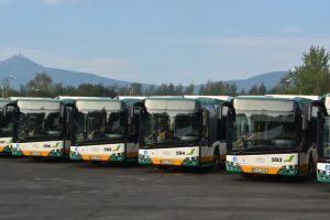 Nové autobusy Solaris Urbino pro Dopravní podnik měst Liberce a Jablonce nad Nisou. Foto: Tomáš Tesar / Magistrát města Liberec