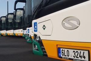 Nové autobusy Solaris Urbino 18 pro DPMLJ. Foto: Jan Sůra / Zdopravy.cz