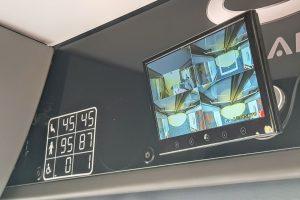 Autobusy jsou vybaveny kamerovým systémem. Foto: Jan Sůra / Zdopravy.cz