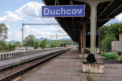 Zastávka Duchcov, stav v červnu 2020. Foto: Správa železnic
