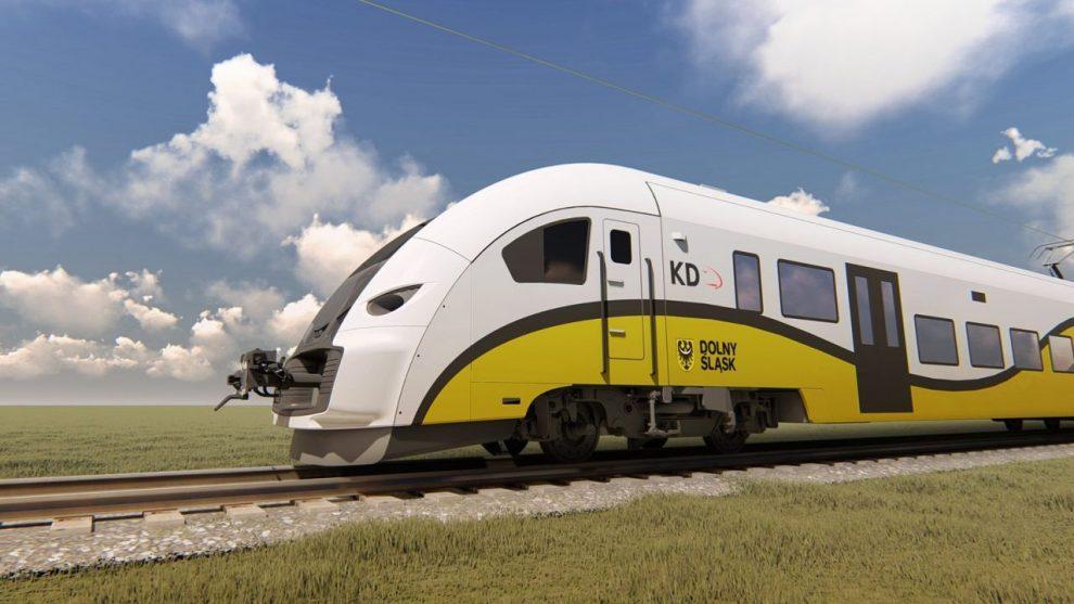 Nové jednotky Pesa Elf2 pro Koleje Dolnośląskie. Foto: KD