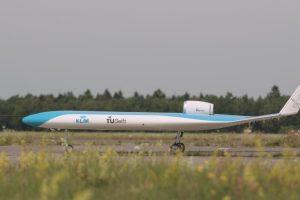 Funkční prototyp letadla Flying - V. Foto: KLM