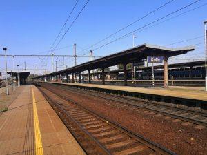 Nástupiště ve stanici Kolín. Foto: František Kolínský