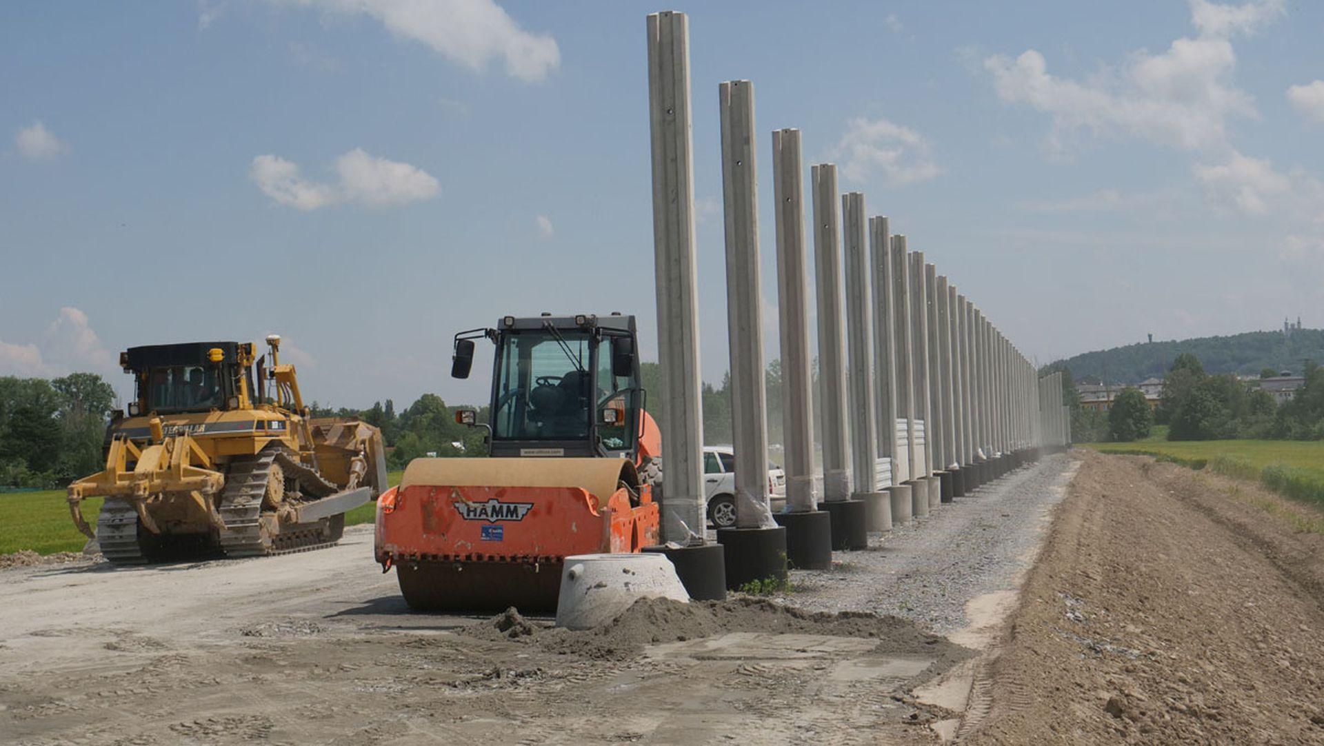 Stavba obchvatu Krnova. Foto: Ředitelství silnic a dálnic