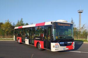 Autobus SOR NB12 v nových barvách Pražské integrované dopravy. Foto: Ondřej Kubišta / DPP