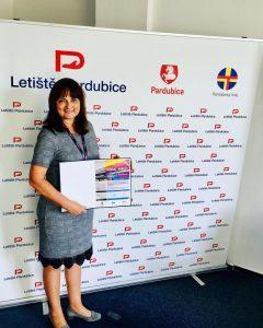 Hana Šmejkalová. Foto: Letiště Praha