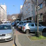 Parkování ve Vysočanech. Foto: Praha 9