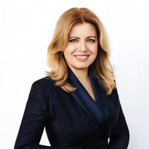 Zuzana Čaputová, prezidentka Slovenské republiky. Pramen: twitter Zuzany Čaputové