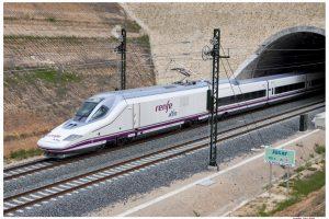 Vysokorychlostní jednotka španělských drah Renfe. Foto: Renfe