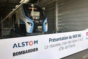 Představení nové jednotky RER NG. Foto: Île-de-France Mobilités