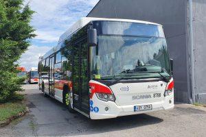 Autobusy Scania Citywide LF pro kladenskou MHD. Pramen: Arriva
