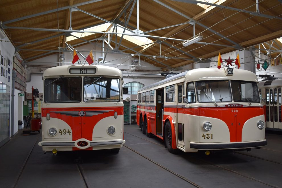 Muzeum MHD v Praze. Foto: Vlastimil Kučera