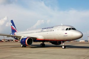 Airbus A320 společnosti Aeroflot. Foto: Aeroflot