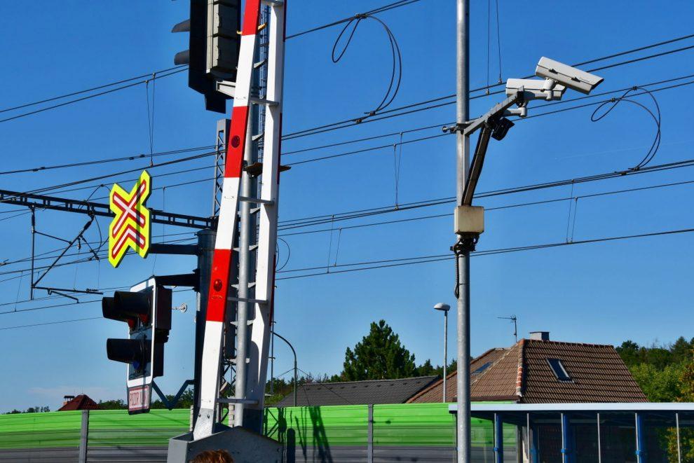 Kamerový systém na přejezdu. Foto: Ministerstvo dopravy
