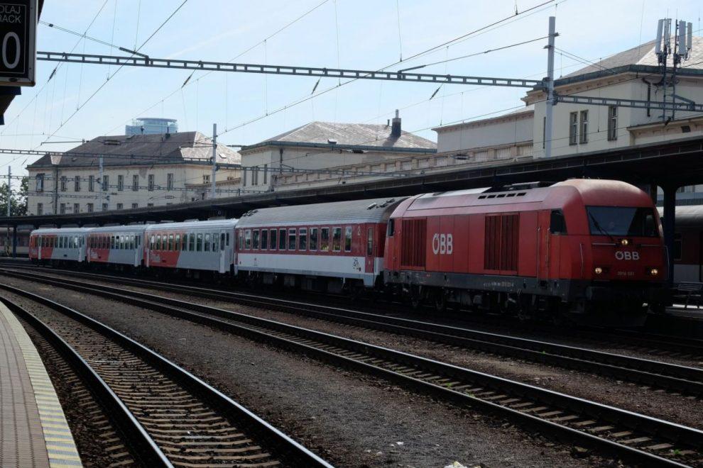 Jedna ze souprav, kterou ZSSK nasadí na vlaky Bratislava - Komárno. Foto: ZSSK