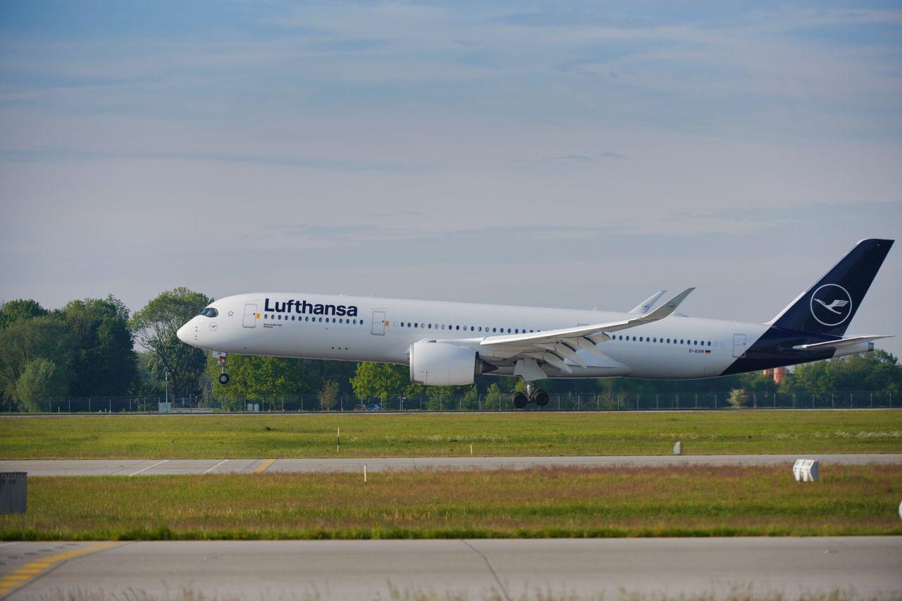 Airbus A350-900 v barvách Lufthansy. Foto: Lufthansa