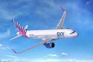 A320neo v barvách Sky Express. Foto: Airbus