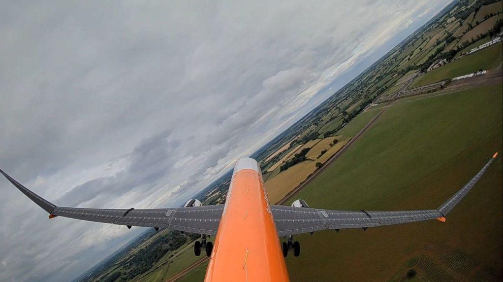 Model AlbatrossONE během testovacího letu. Foto: Airbus